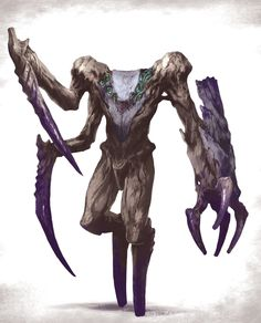 Some creatures i've designed for table top game. Monster Art, Monster Concept Art, Fantasy Monster, Monster Design, Creature Concept Art, Creature Design, Alien Creatures, Mythical Creatures, Dark Fantasy Art