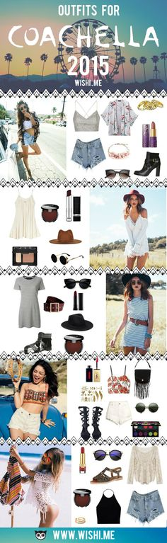 Need an outfit for Coachella 2015? We've got the perfect outfits for you. Style or own or request style straight from your own closet.