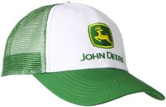 John Deere Men's Trademark Logo Trucker Mesh Back Core Baseball Cap - Listing price: $16.00 Now: $11.19