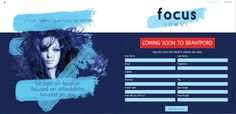 Focus Towns Registration Page by Kre8it Design Studio.