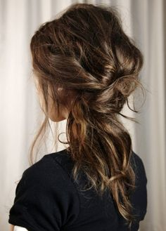 #pretty #beautiful #cute #gorgeous #trendy #hair #braid #ponytail #unique #updo #brunette #hairstyle #inspiration #idea #beauty