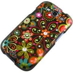 #Rhinestones Back Cover for #Samsung Galaxy S III, Multi #Flower $12.99 From #DayDeal