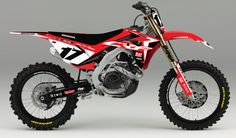 All designs are displayed on recent model bikes, however they are available for most makes and models 2000 onwards. Once your order is placed, we will send you an email with the design on your specific bike templates, along with your custom details. Dirt Scooter, Honda Dirt Bike, Moto Bike, Mx Bikes, Motocross Bikes, Racing Motorcycles, Enduro, Scrambler, Biker Boys