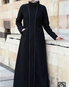 Shop online for stylish Islamic clothing designed for modern Muslim women and men. Modest Outfits, Classy Outfits, Queen Style, Abaya Fashion, Fashion Dresses, Modern Abaya, Moslem Fashion, Abaya Designs, Islamic Fashion