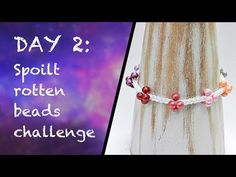 Kumihimo challenge - Berry Cluster Bracelet - YouTube