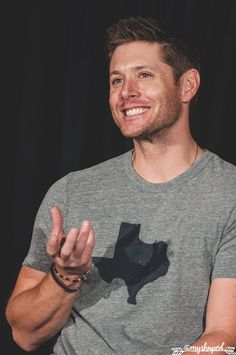 Jensen Ackles (❤ʚ❤) .@JensenAckles - Main Panel - Salute to Supernatural Dallas…