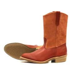 Red Wing Shoes X Eat Dust Style no 4327 E Pecos - Oro-Russet Portage/A