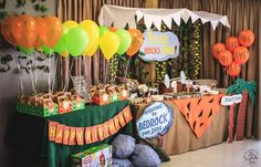 Flintstones Birthday Party Ideas | Photo 4 of 11 | Catch My Party