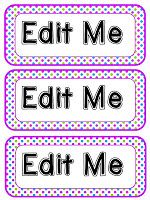 Joy of Kindergarten: Editable Polka Dot Classroom Labels with a free font Polka Dot Labels, Polka Dot Theme, Polka Dots, Classroom Organisation, School Organization, Classroom Decor, Classroom Labels Free, Polka Dot Classroom, Writing Graphic Organizers
