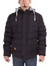 NWT Luciano Natazzi Mens Treaty Coat Thermal Padded Down Jacket BLACK 2X-Large