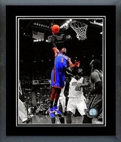 Amare Stoudemire Framed With double black matting Ready To Hang- Awesome & Beautiful
