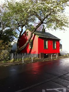 The Colourful houses of Reykjavik Iceland Travel, Reykjavik Iceland, Iceland Island, Red Houses, Colour Architecture, The Beautiful Country, House Colors, Places To Go, Exterior