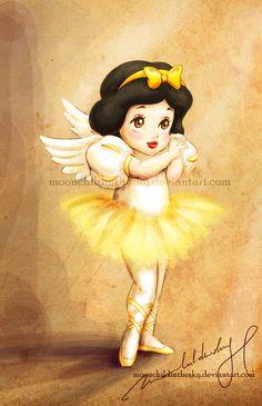 "Dancing angel: Snow White ~ sol aka   ""moonchildinthesky"""