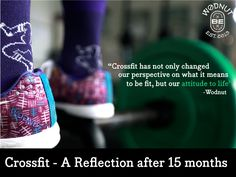 Crossfit - A Reflection after 15 months | Wodnut
