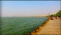 2. Queens necklace, Marine lines: The queen's necklace is one of the best marvels of Mumbai after the gateway of India. The place is famous for two reasons. One the night view appears as a necklace and secondly the couples showing their PDA. Couples, specially the younger ones are the most in numbers showing their affection towards the partner. But as it being the most iconic place in Mumbai people don't mind showing off their public display of affection without any hesitations.