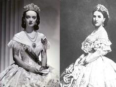 Bette Davis Mexico | Bette Davis and Empress Carlota of Mexico