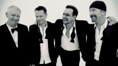 U2 Divinely tuxed....