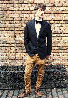 Burberry Navy Wool Blazer  £65  #Buberry #Blazer #Menswear #Dapper
