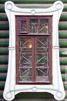 Русские деревянные резные оконные наличники. Всё о них.