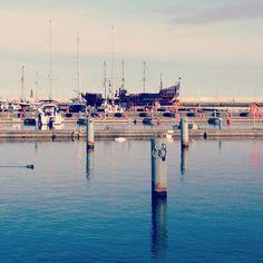 Gdynia Marina still empty .. waiting for the boats