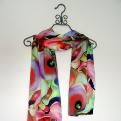 A personal favorite from my Etsy shop https://www.etsy.com/listing/248005701/boho-chic-abstract-pink-peach-silk-satin