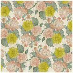 Looks vintage to me! Design Textile, Textile Patterns, Textile Prints, Floral Patterns, Lime Images, Pattern Art, Pattern Design, Surface Pattern, Motif Floral