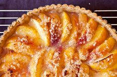 Every cook needs a good dessert recipe that can be whipped up anywhere -- especially when you're away from your kitchen and its mixer and rolling pin and comforting gadgets. This peach tart is that recipe.