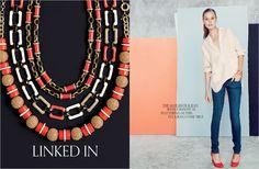 Neutral silk henley, matchstick jean, poppy Mona pump (newest acquisition)