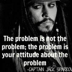 The problem is not a problem unless you make it one. Always be optimistic and turn the negative to a positive <3