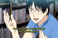 Yamazaki had some really interesting points on love and life.