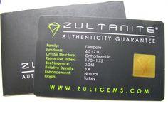 0.58 Ct. Natural Zultanite® Loose Gem Gemstone - 9x3mm Antique Cut W Cert Of Authenticity #101