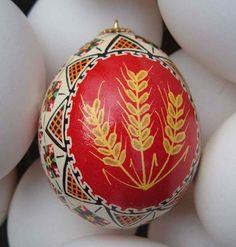 Ukrainian Eggs | Vermont Food and Garden: Ukrainian Easter Eggs