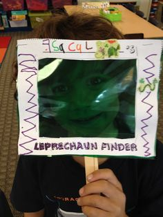 Leprechaun Finder and a trap 1st graders will love it.