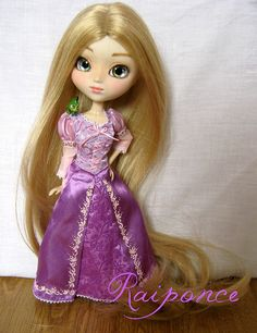 Cool Rapunzel Doll by Pniix