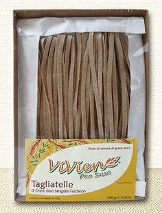 """#Tagliatelle di Grano duro Saragolla-Turchesco di Vivien Pro Salus. Sono prodotte con il #grano duro saragolla, un """"antenato"""" dei moderni grani duri"""