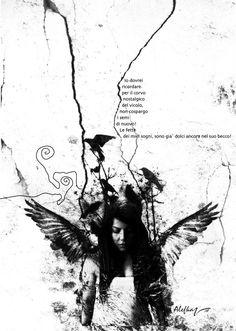 یادم باشد برای کلاغ دلتنگ کوچه دانه نپاشم دیگر تکه تکه های رویایم در منقارش هنوز شیرین است الف.کا I should remember not to sprinkle seeds again for the nostalgic crow of the alley The pieces of my dream are still sweet .in his beak