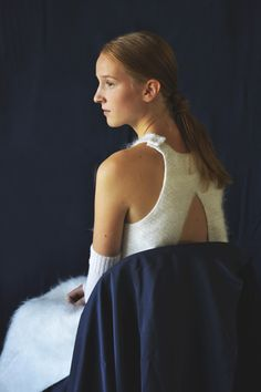 Anni Lehtosalo BA Graduate Collection.  Photography: Sara Riikonen.   #mohair