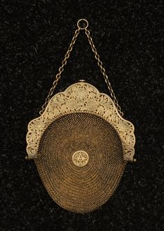 Late 19th century Sterling Silver Purse