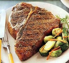 Delicious Grilled Porterhouse Steak Recipe Perfect For A Get Together Or A Weekend Barbecue. Steak Recipes, Grilling Recipes, Chicken Recipes, Cooking Recipes, Picnic Recipes, Barbecue Recipes, Entree Recipes, What's Cooking, Cooking Ideas