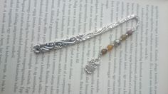 Bookmark - Metal - Beads & Owl