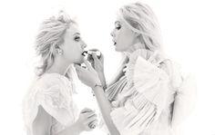 Style Is Instinct by Lori Goldstein; photograph of Elle and Dakota Fanning © Mario Sorrenti.