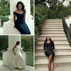Absolutely Beautiful . First Lady Michelle Obama Vogue magazine