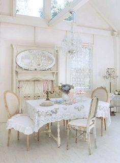 what a beautiful dining room photo(from karla's cottage) | dining