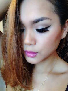 Little black dress eyeliner by #motives