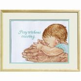 Found it at Wayfair - Pray Without Ceasing Counted Cross Stitch