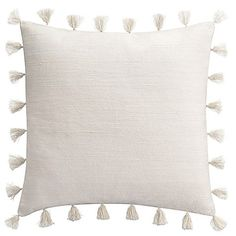 Add a bohemian flair to your bedroom with the chic Cupcakes and Cashmere Kilim European Pillow Sham. Inspired from flat woven kilim rugs, the fashionable sham is adorned with allover crewel embroidery and a tassel trim. Free shipping on orders over $29.