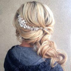 """I love pretty hair accessories! #hairandmakeupbysteph"""