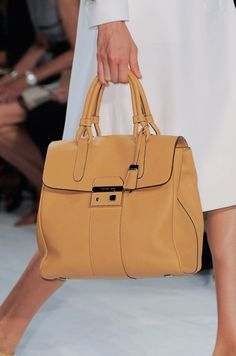 Get Up Close With the Best Runway Bags From NYFW Spring 2014: Michael Kors Spring 2014