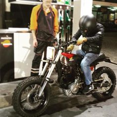 Honda NX 650 Dominator Retro Edition test drive by - Luxury Motorcycle!
