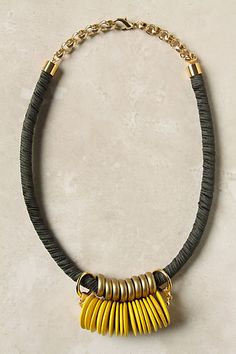 """Anthro single file necklace 21"""""""